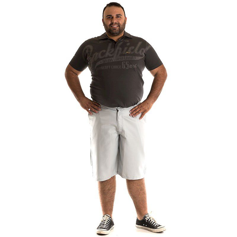 Bermuda Sarja Plus Size 107702