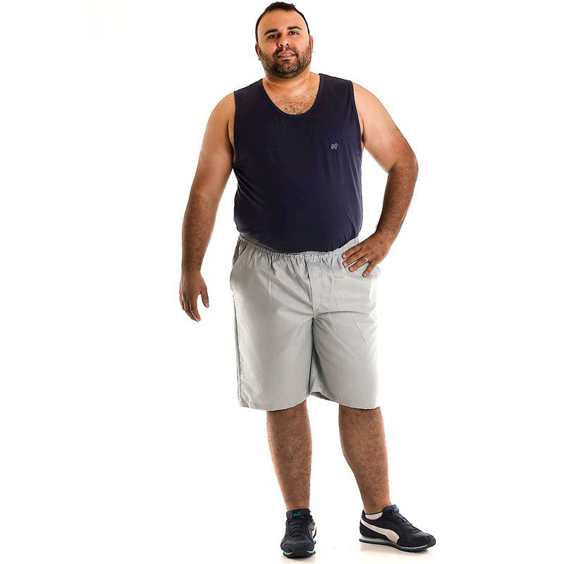 Bermuda Sarja Plus Size 90302