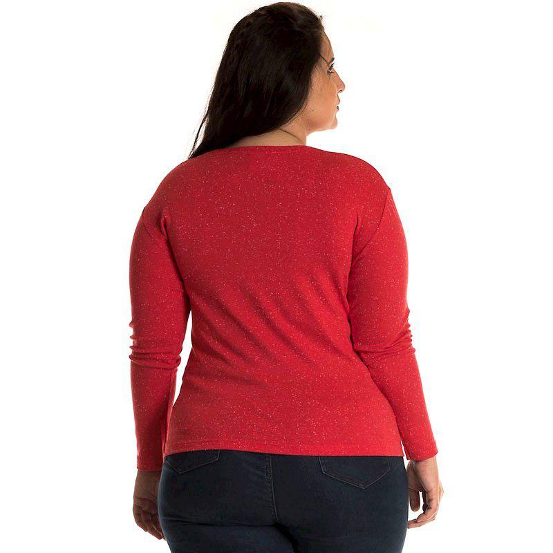 Blusa Básica Ribana Plus Size 11205