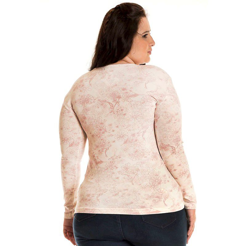 Blusa Básica Viscolight Plus Size 10604