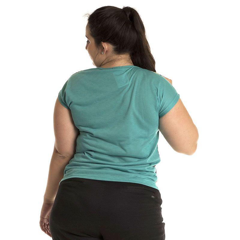 Blusa Plus Size Estampada 4104
