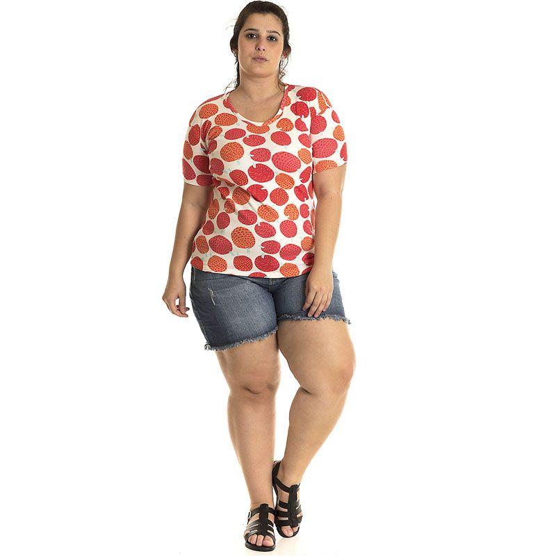 Blusa Ribana Plus Size 12514