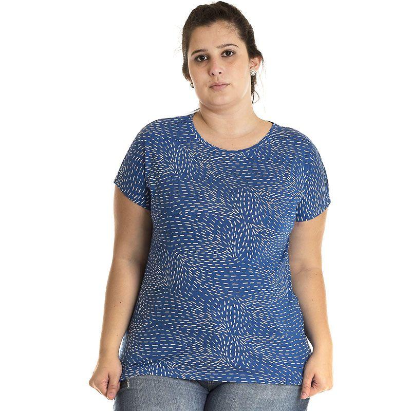 Blusa Viscose Plus Size 12807