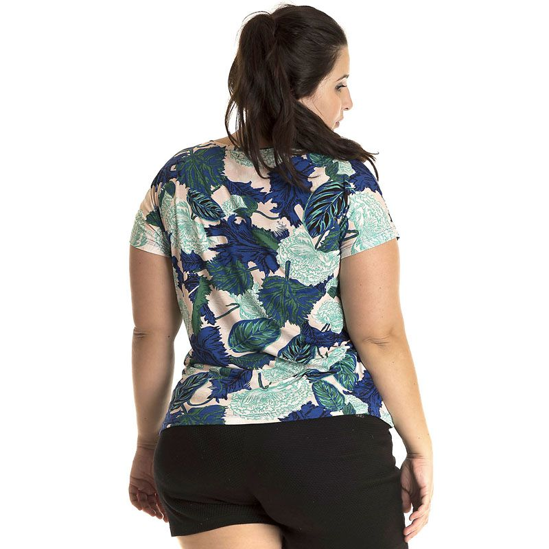 Blusa Viscose Plus Size 12809