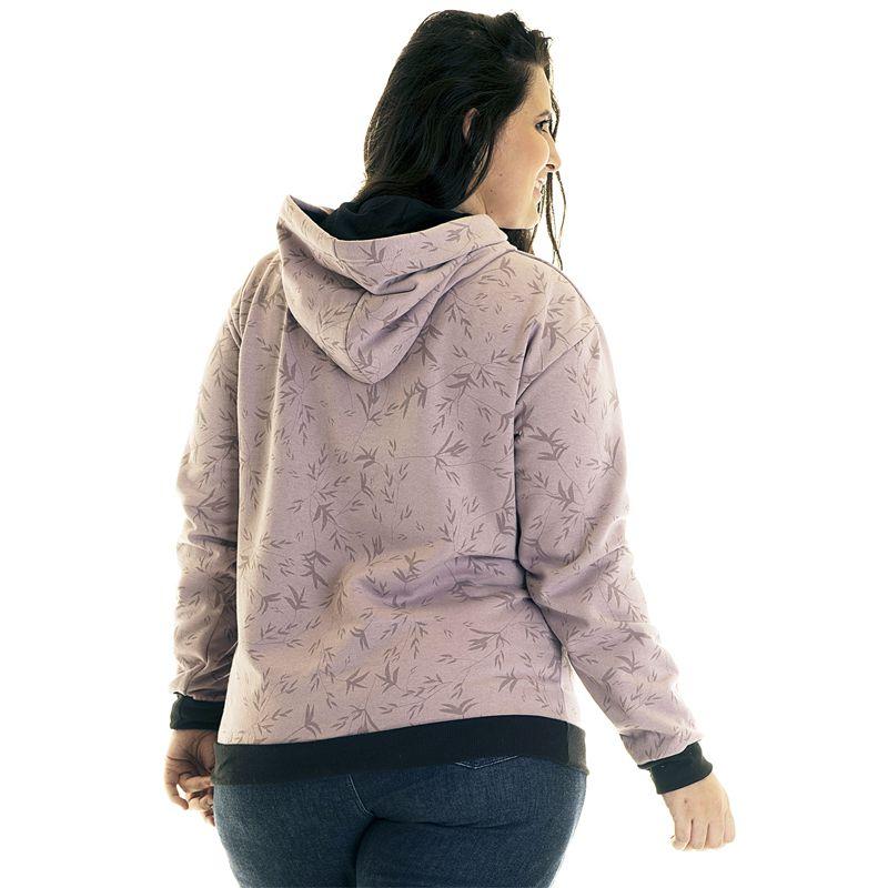 Blusão Moletom Canguru Plus Size 36521