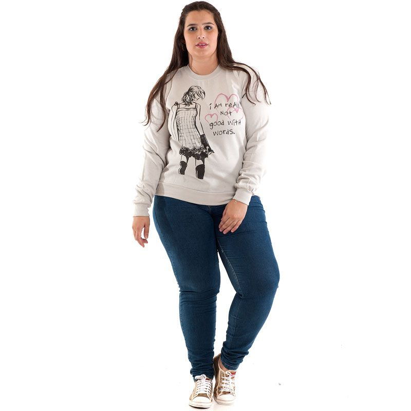 BLUSÃO MOLETOM PLUS SIZE 38708