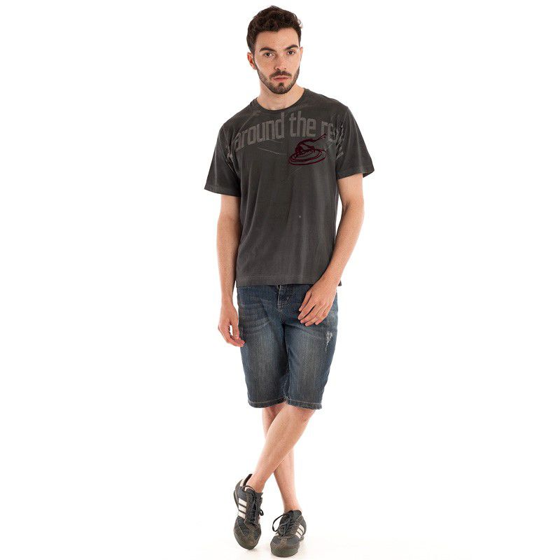 Camisa Básica Manga Curta 98405