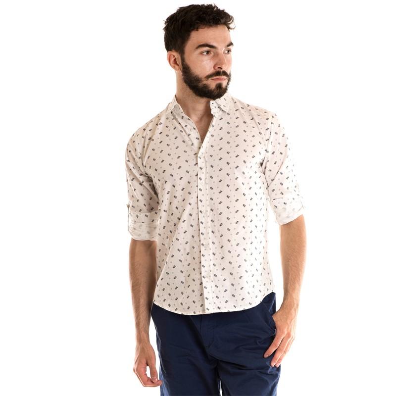 Camisa Manga Longa Estampada 3141