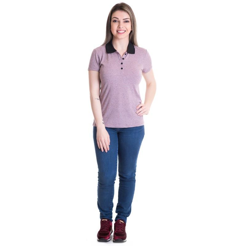 Camisa Polo Feminina 961072