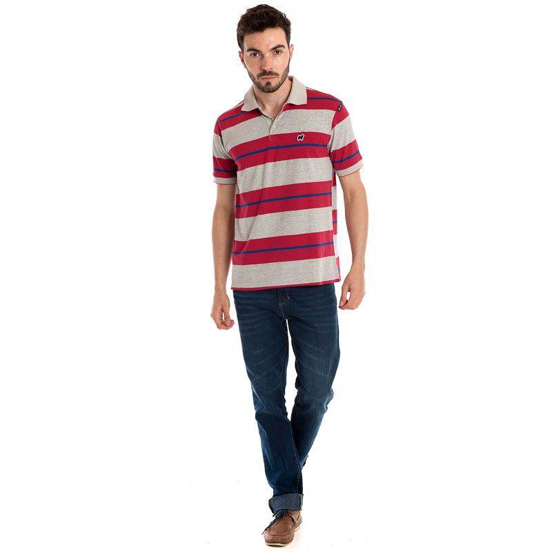 Camisa Polo Manga Curta 118301