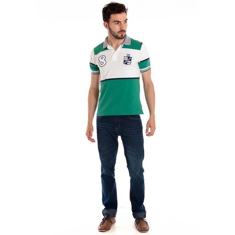 Camisa Polo Manga Curta 118302