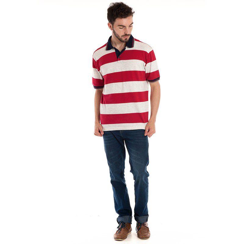 Camisa Polo Manga Curta 118303