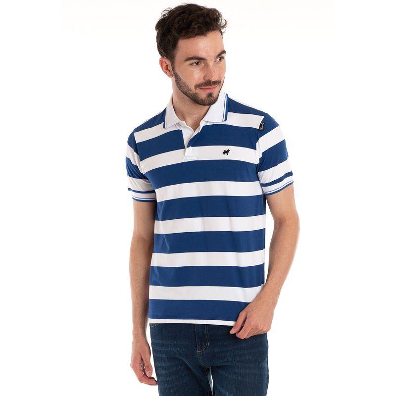 Camisa Polo Manga Curta 118323
