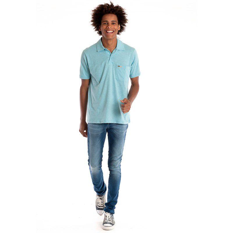 Camisa Polo Manga Curta 30106