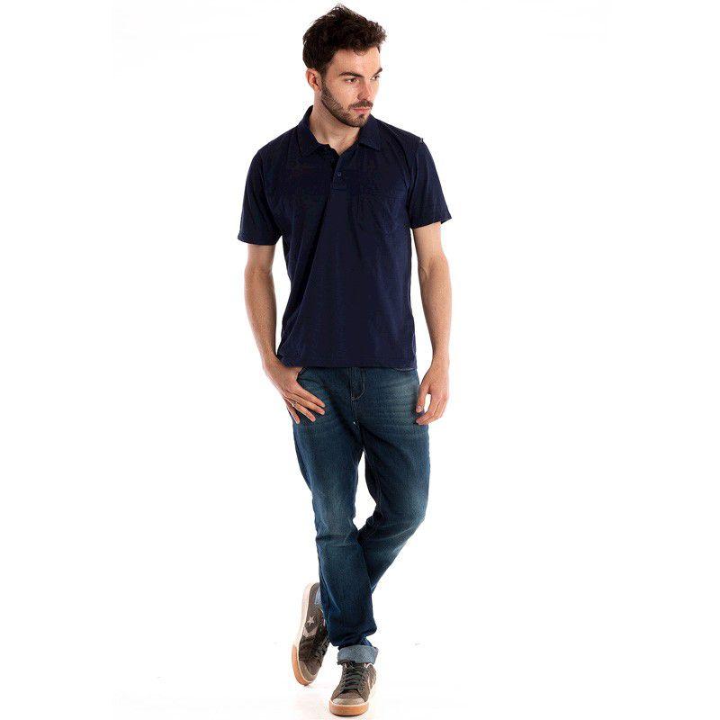 Camisa Polo Manga Curta 30107