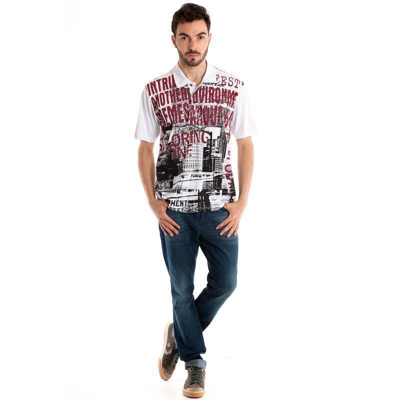 Camisa Polo Manga Curta 31013