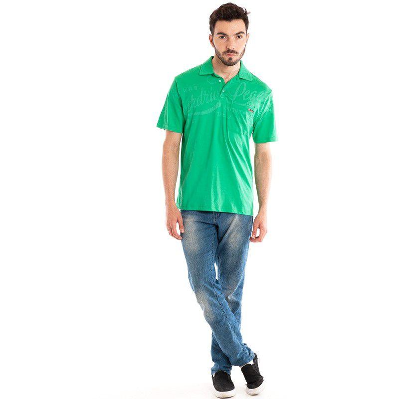 Camisa Polo Manga Curta 32806