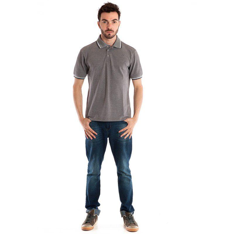 Camisa Polo Manga Curta 34806