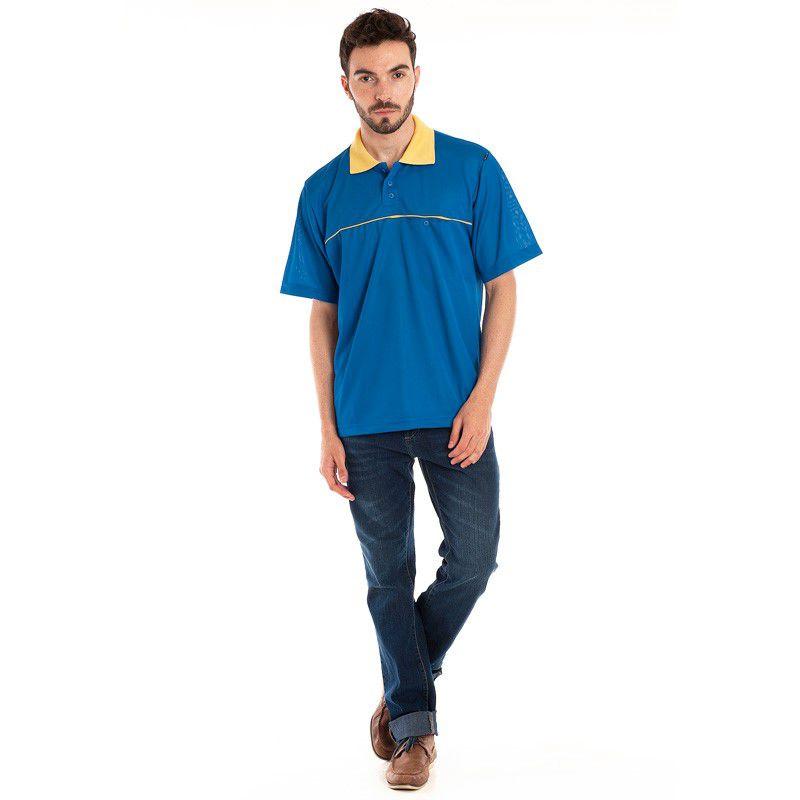 Camisa Polo Manga Curta 95702