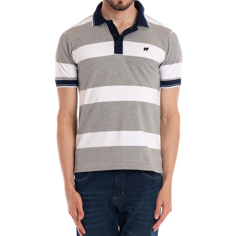 Camisa Polo Manga Curta Listrada 118340