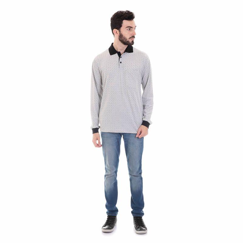 Camisa Polo Masculina Malha Piquet 32401