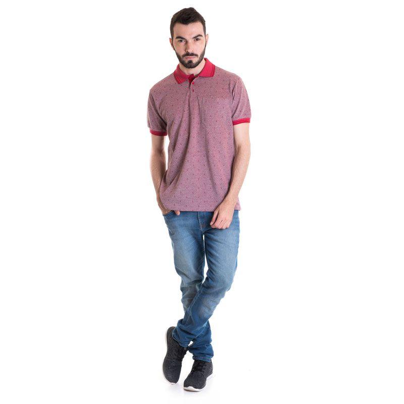Camisa Polo Masculina Manga Curta 33604