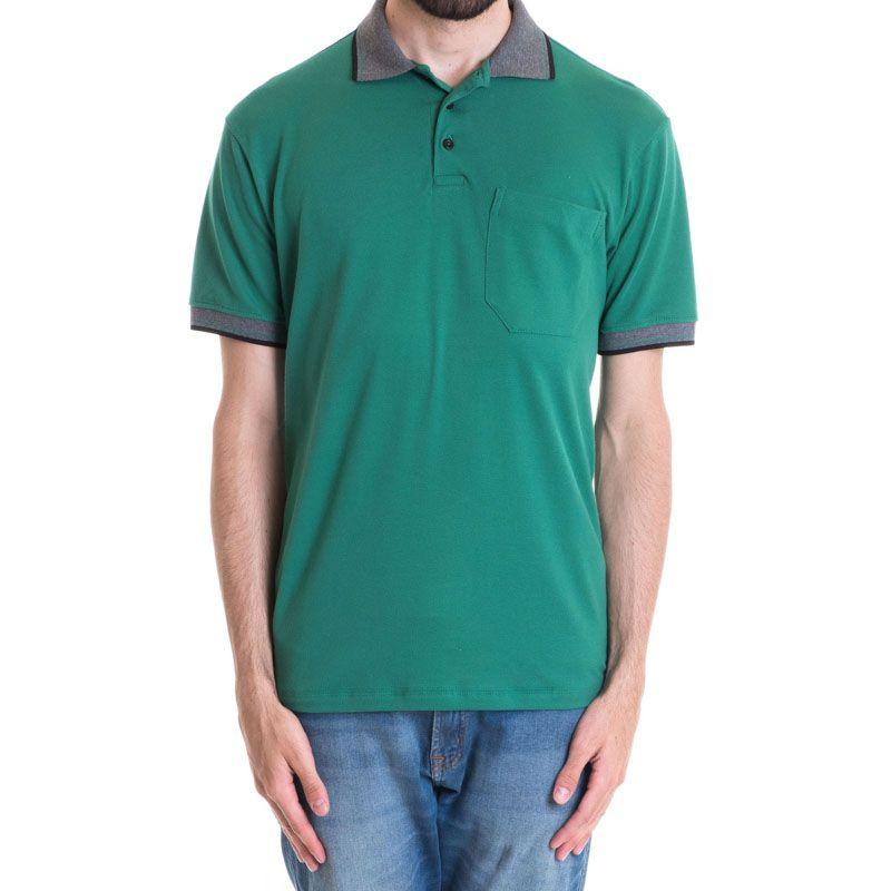Camisa Polo Masculina Manga Curta 348047
