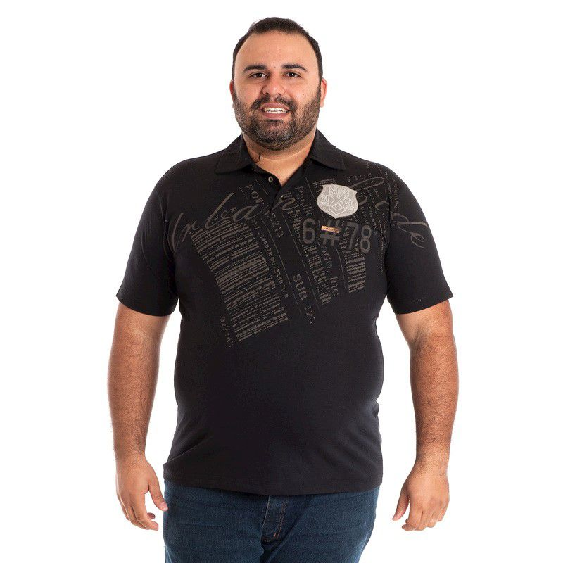 CAMISA  POLO PLUS SIZE 103015