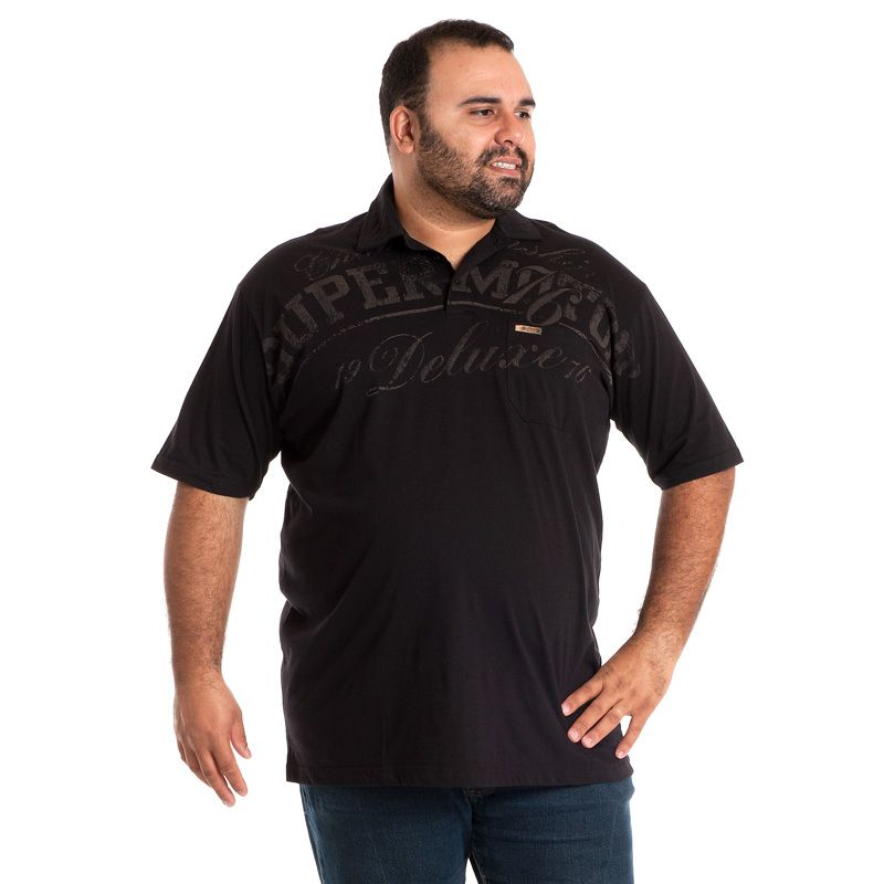 CAMISA POLO PLUS SIZE 103016