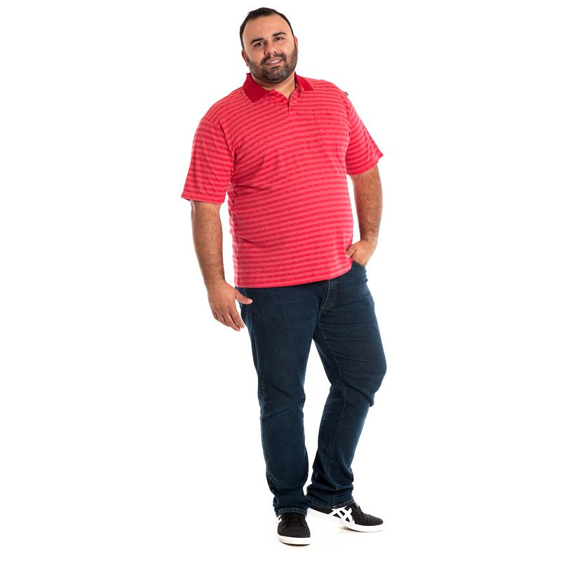 CAMISA POLO PLUS SIZE 103202