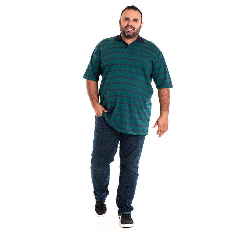CAMISA POLO PLUS SIZE 118512