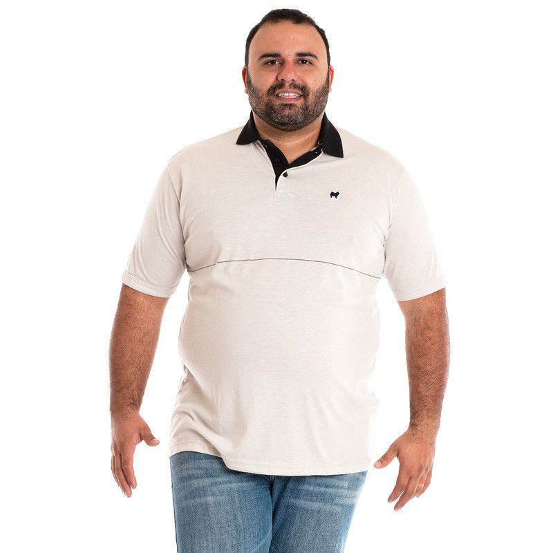 CAMISA POLO PLUS SIZE 118515