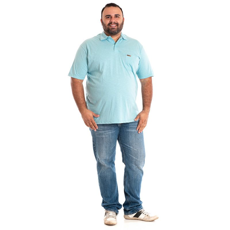 CAMISA POLO PLUS SIZE 33702