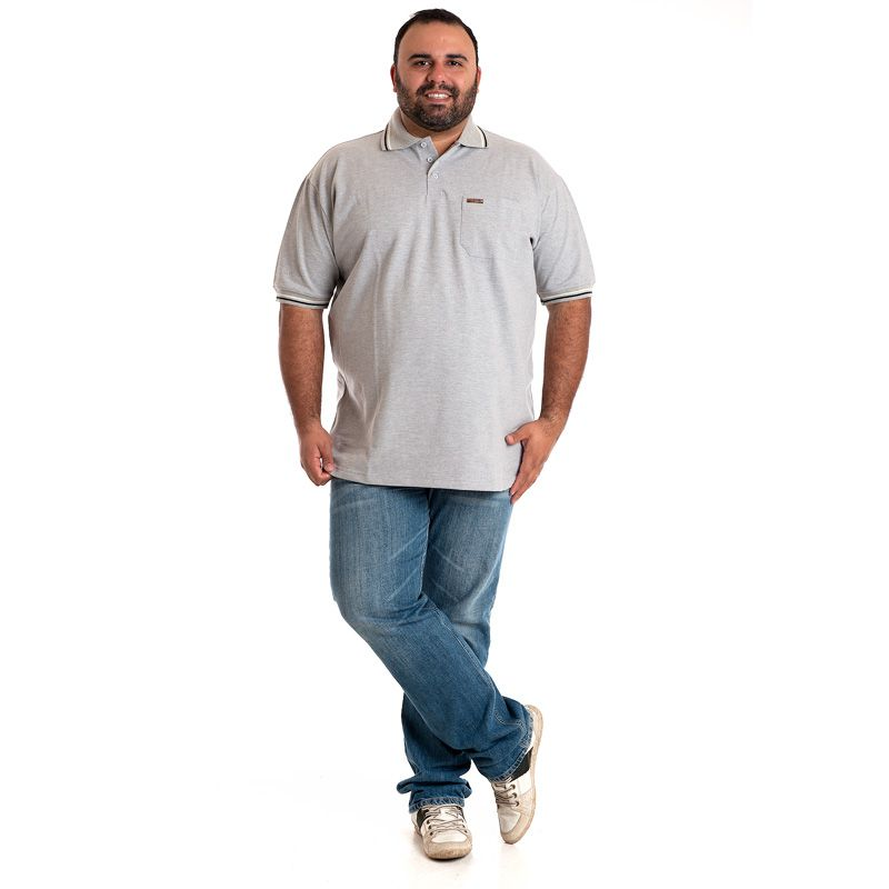 CAMISA POLO PLUS SIZE 34602