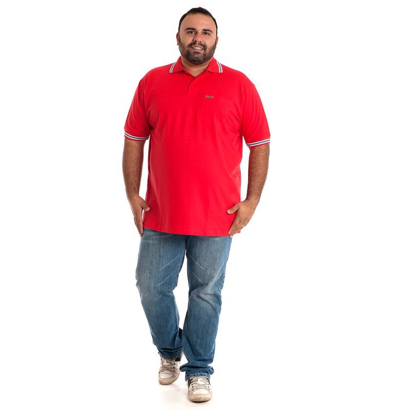 CAMISA POLO PLUS SIZE 34603