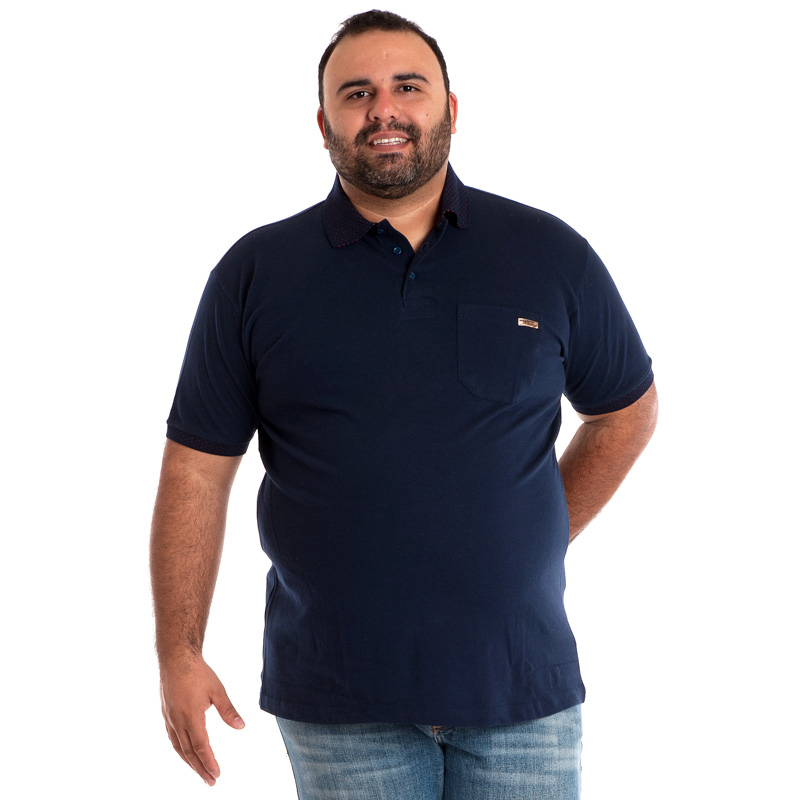 Camisa Polo Plus Size 34608