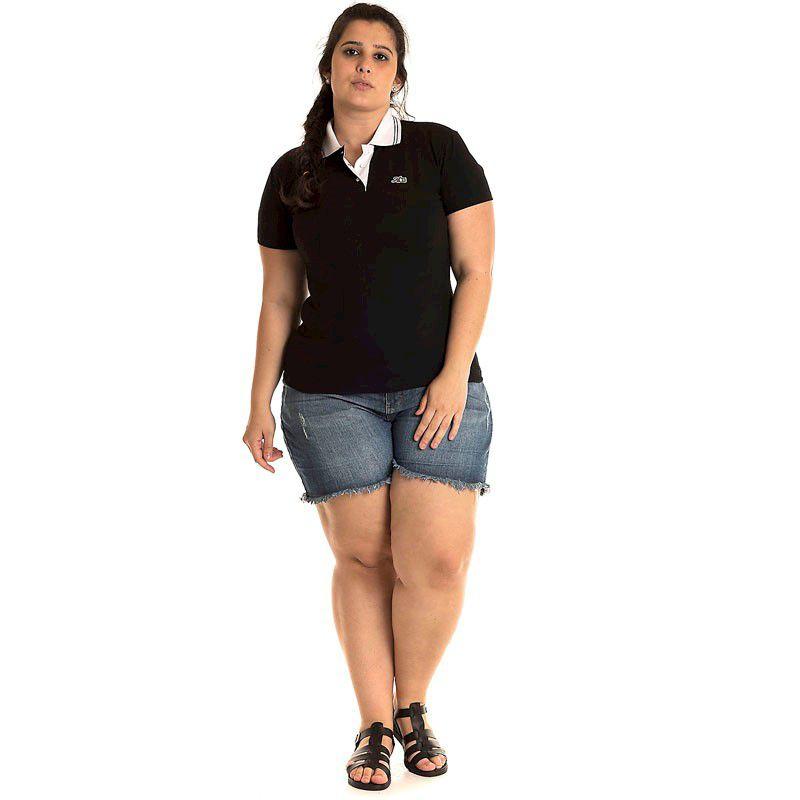 Camisa Polo Plus Size 96201