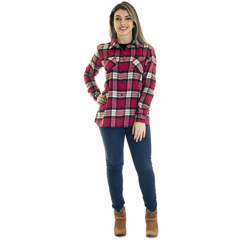 Camisa Xadrez Flanela 33402