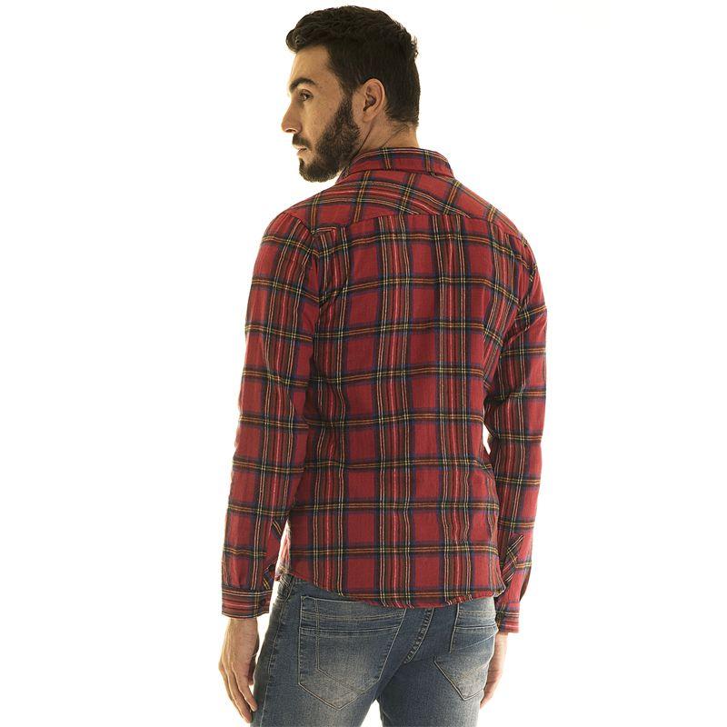 Camisa Xadrez Flanela 33501