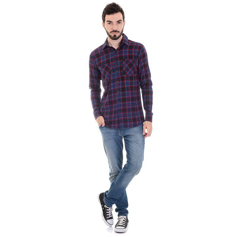 Camisa Xadrez Flanela 33514