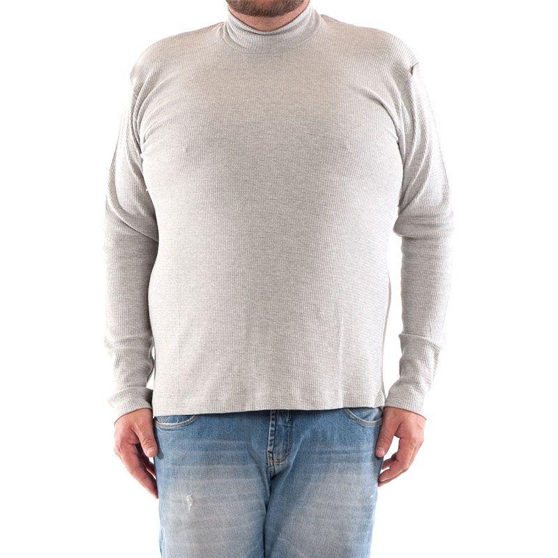 Camiseta Básica Gola Alta Plus Size 11013