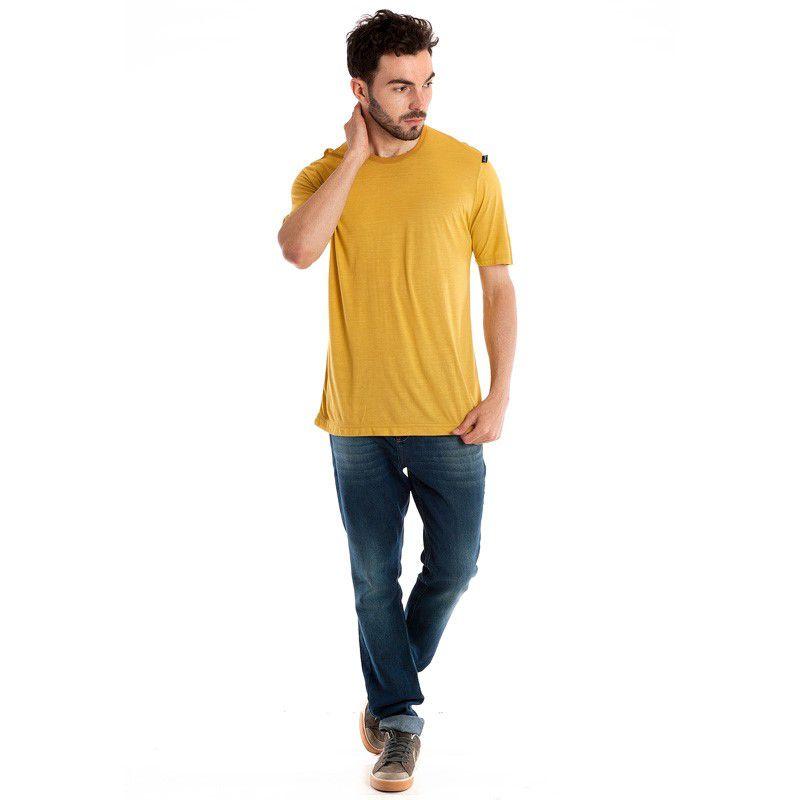 Camiseta Básica Manga Curta 3051