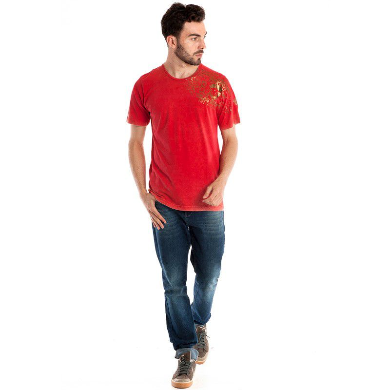 Camiseta Básica Manga Curta 98408