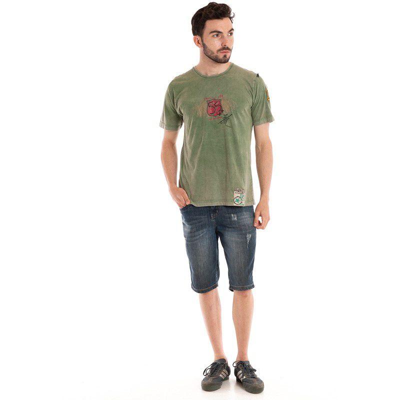 Camiseta Básica Manga Curta 98421