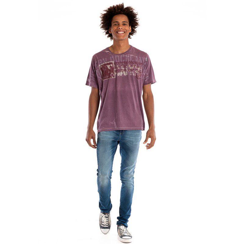 Camiseta Básica Manga Curta 98435