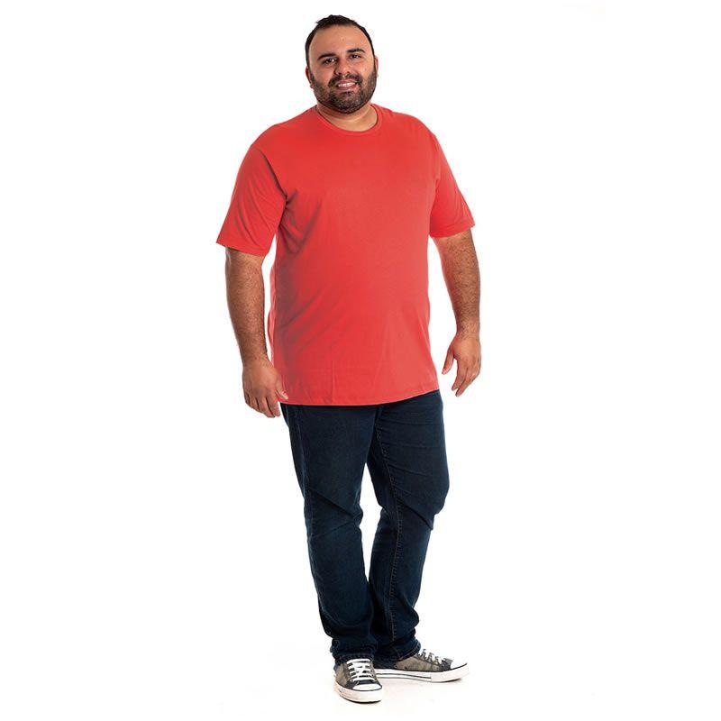 Camiseta Básica Manga Curta Plus Size 118004