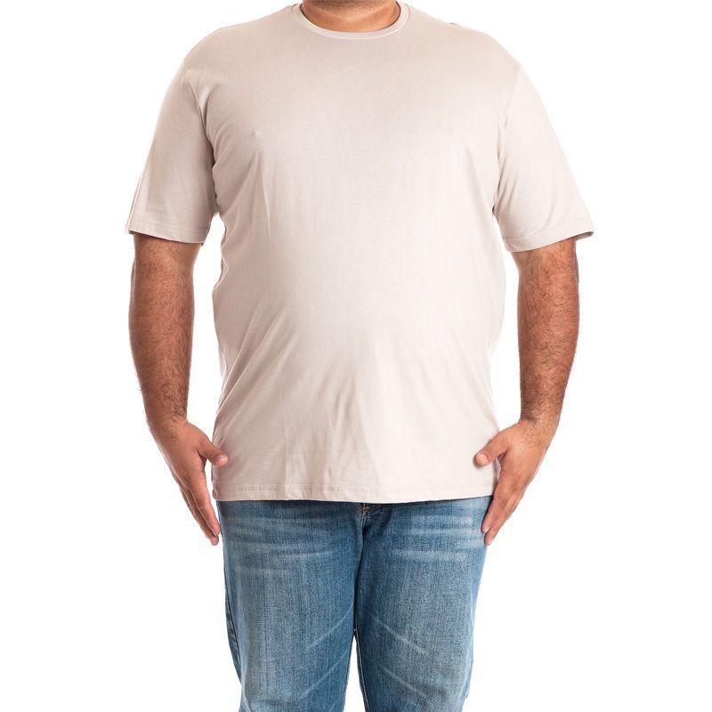 Camiseta Básica Manga Curta Plus Size 118005