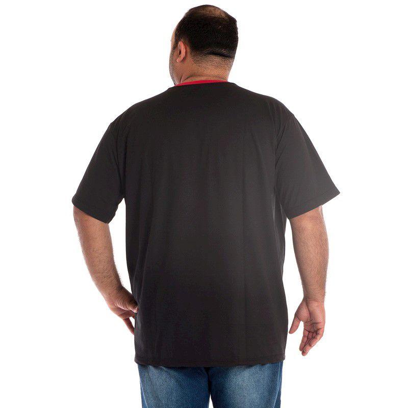 Camiseta Manga Curta Plus Size 98801