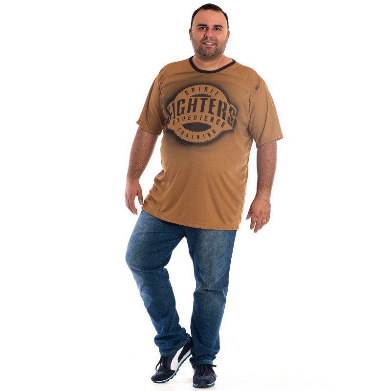 Camiseta Manga Curta Plus Size 98808