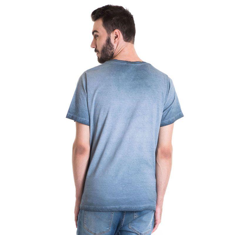 Camiseta Masculina Manga Curta Estonada 33006